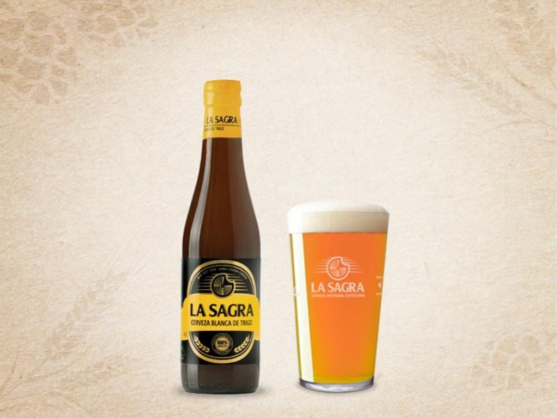 Cerveza La Sagra Blanca de Trigo
