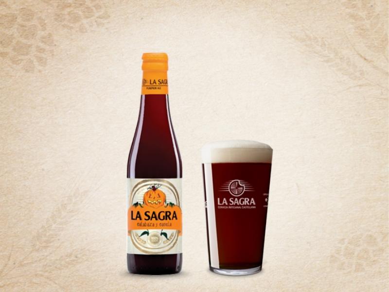 Cerveza La Sagra de Calabaza y Canela
