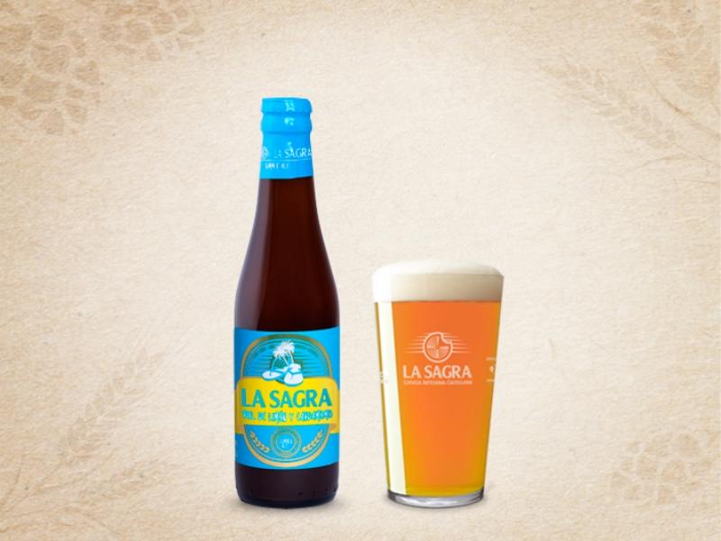 Cerveza La Sagra de Piel de Limón y Cardamomo