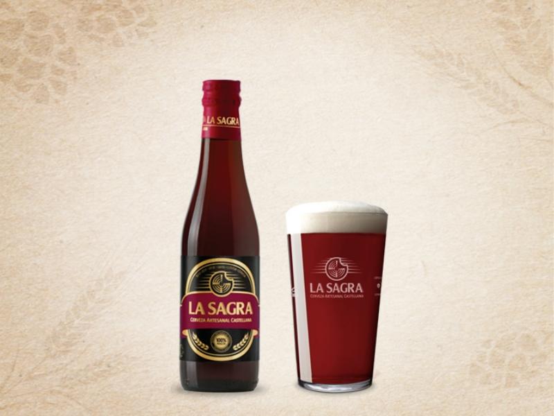Cerveza La Sagra Roja