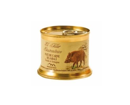Paté de Jabalí Taller Gastronómico Montes de Toledo
