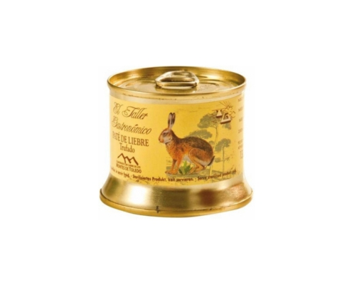 Paté de Liebre Taller Gastronómico Montes de Toledo
