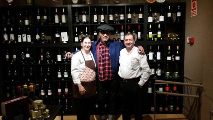 Con nuestro amigo Ivan Ferdinand, desde Manhattan