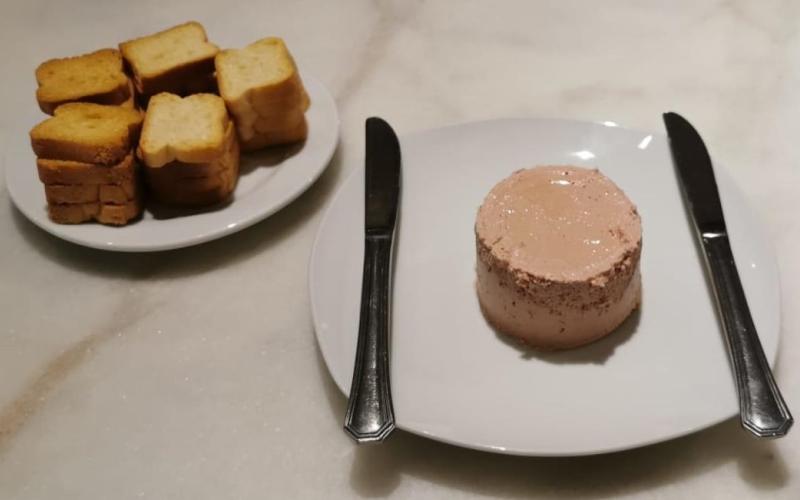 Degustación de Paté de Caza